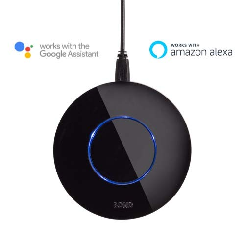 BOND | Smart Home Automation | Make Your Old Ceiling Fan or Fireplace Smart Through WiFi | Works with Alexa and Google Home | Remote Control with App | Compatible with iPhone or Android 1