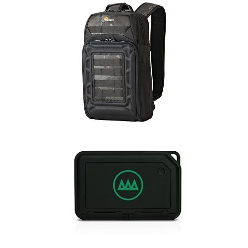 DroneGuard Field Video Backup & Editing Bundle | Lowepro DroneGuard BP 200 Backpack Plus GNARBOX - Portable Backup & Editing System 1