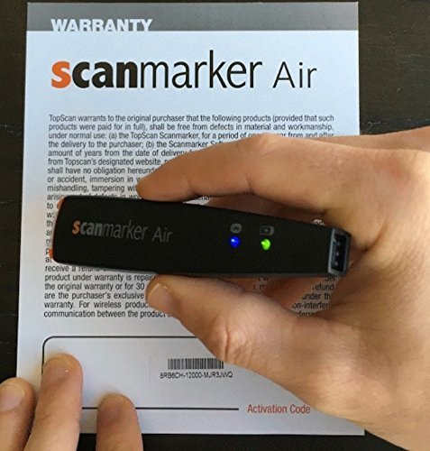 Pen scannr Wireless by TopScan - , text Scanner /reader for Mobile and PC (Mac , iOS , Android , Windows). Scan text directly into your device. 1