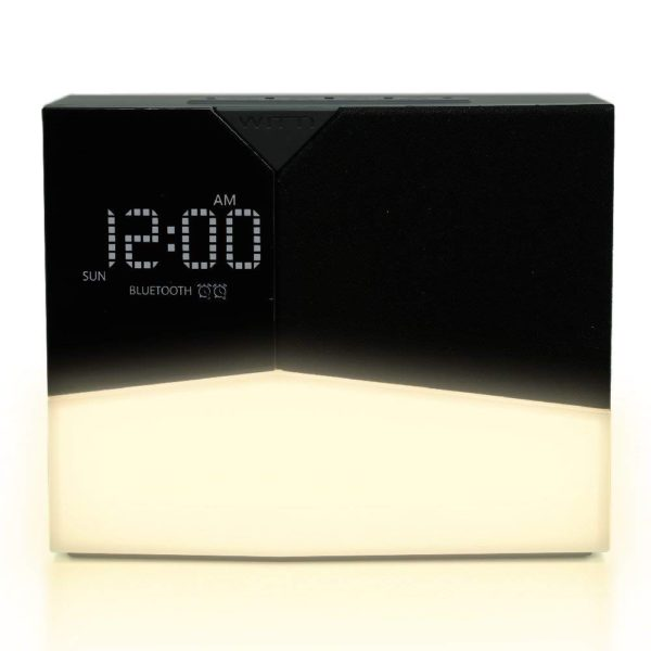 WITTI - BEDDI Glow | App Enabled Intelligent Alarm Clock with Wake-up Light, Bluetooth Speaker and USB Charger 1