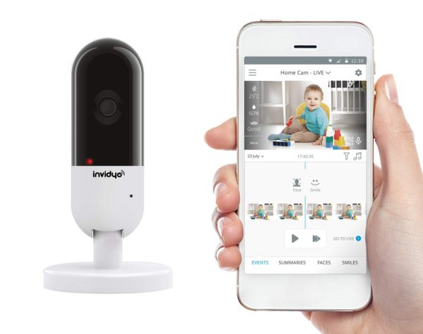 Invidyo: World's Smartest Video Baby Monitor with Crying Detection, Stranger Alerts and Smile Albums 1