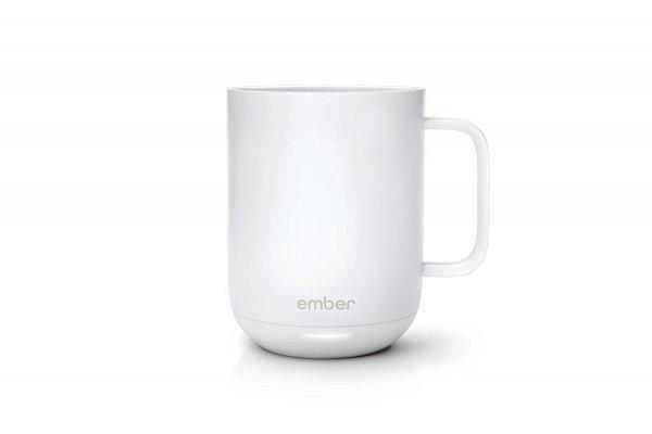Ember Temperature Control Ceramic Mug, White - CM17 1