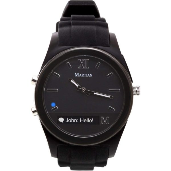 Martian Watches Notifier Smartwatch - Black 1