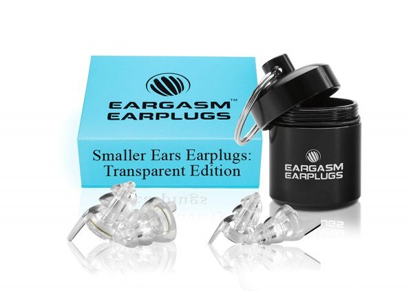 Eargasm Smaller Ears Earplugs for Concerts Musicians Motorcycles Noise Sensitivity Disorders and More! Two Different Sizes Included to Accommodate Smaller Ear Shapes! 1