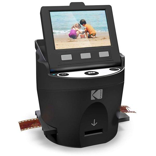 Kodak Digital Film Scanner, Converts 35mm, 126, 110, Super 8 and 8mm Film Negatives and Slides to JPEG Includes Large Tilt Up 3.5 LCD and EasyLoad Film Inserts 1