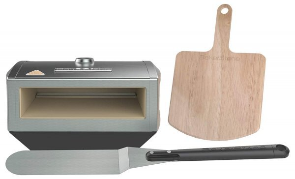 BakerStone Pizza Box, Gas Stove Top Oven (Stainless Steel) 1