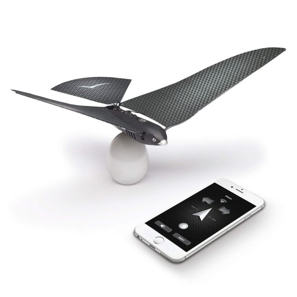 BIONICBIRD THE FLYING APP - PREMIUM PACKAGE - Smart Flying Robot + Egg Charger + Extra pair of wings 1