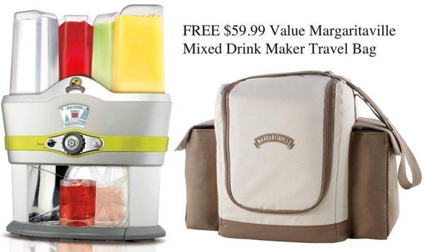 Margaritaville Mixed Drink Maker w/Travel Bag Model NBMGMD3000 1