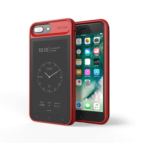 Oaxis Cell Phone Case for iPhone 6/6s/7/8 Plus - Red Pattern 1