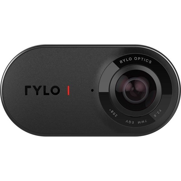 Rylo 360 Video Camera - (iPhone + Android) - Breakthrough Stabilization, 5.8K Recording, Includes 16GB SD Card Everyday Case 1