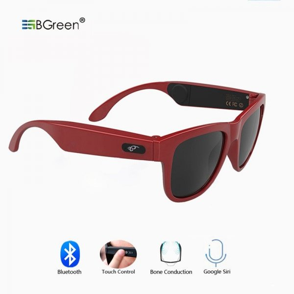 Bone Conduction Bluetooth Sunglasses With Microphone 1