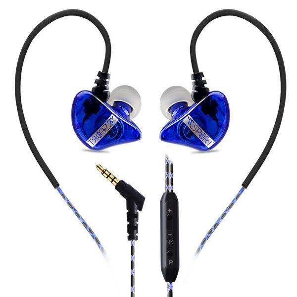 Subwoofer Bass Sports In-ear Earphone Wire Control Earphone 1