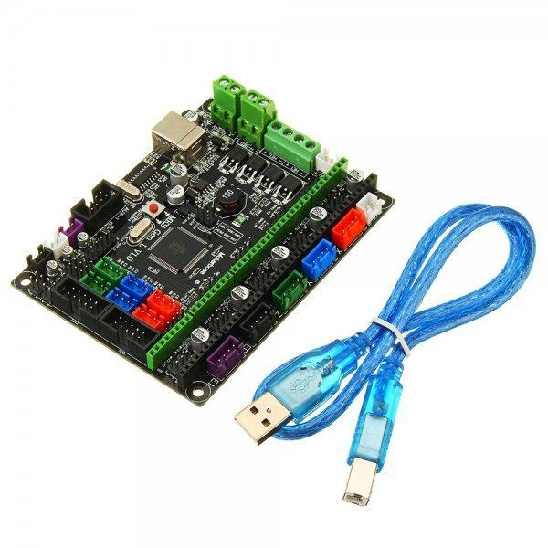 MKS-GEN L V1.0 Integrated Controller Mainboard Compatible Ramps1.4/Mega2560 R3 For 3D Printer 1