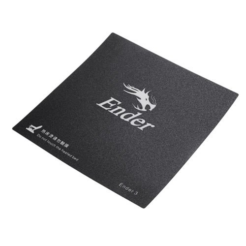 3pcs Creality 3D® 235*235mm Frosted Heated Bed Hot Bed Platform Sticker With 3M Backing For Ender-3 3D Printer Part 4