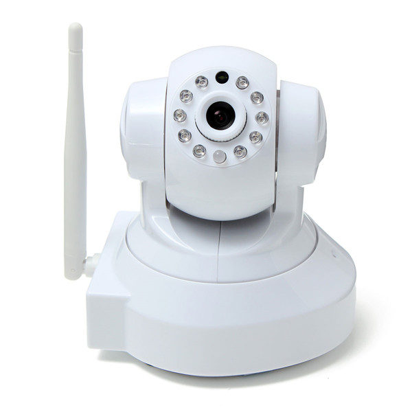 SUNLUXY 1.0 Megapixel 720P Wireless Network Webcam CCTV IP Security Camera with Two-way 1