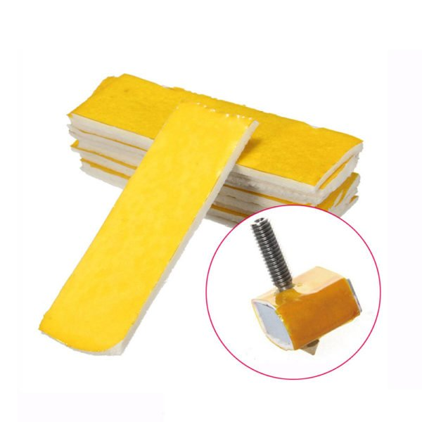 10Pcs 3mm Thickness 3D Printer Heating Block Cotton Hotend Nozzle Heat Insulation Cotton 1