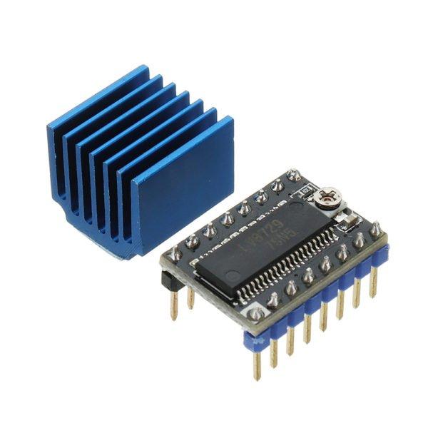 Ultra-silent 4-layer Substrate MKS-LV8729 Stepper Motor Driver Support 6V-36V With Heatsink For 3D Printer 1