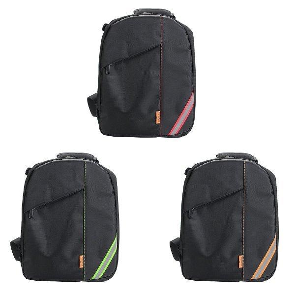 Waterproof Shoulder Bag Backpack Rucksack With Reflective Stripe For DSLR Camera 1