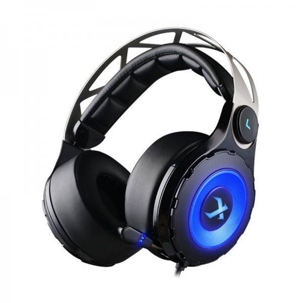XIBERIA T18 Black HiFi Bass LED Light Gaming Headphone Headset with Microphone 1
