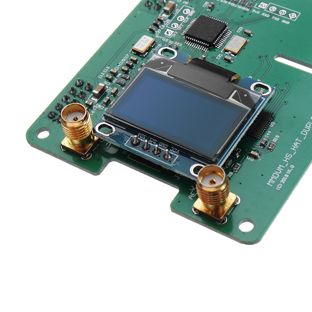 MMDVM DUPLEX RX TX UHF VHF Hotspot Support P25 DMR YSF NXDN DMR SLOT 1+  SLOT 2 + OLED for Raspberry Pi - Dr Techlove