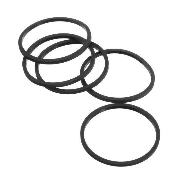 5Pcs Drive Belts Motor Belt Drive Rubber Transmission Band for Xbox 360 Slim 1