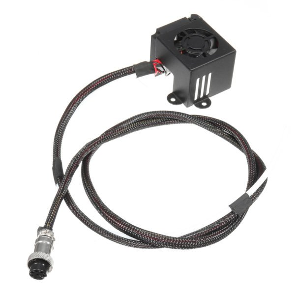 3D Printer Parts 0.4mm Nozzle Hot End Extruder Kits With Cooling Fan For Creality CR-10 1