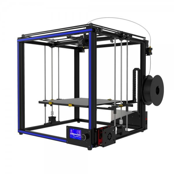 TRONXY® X5S-400 DIY Aluminum 3D Printer Kit 400*400*400mm Large Printing Size With Dual Z-axis Rod/HD LCD Screen/Double Fan 1.75mm 0.4mm Nozzle 1