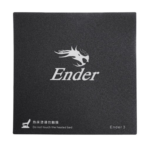 3pcs Creality 3D® 235*235mm Frosted Heated Bed Hot Bed Platform Sticker With 3M Backing For Ender-3 3D Printer Part 3