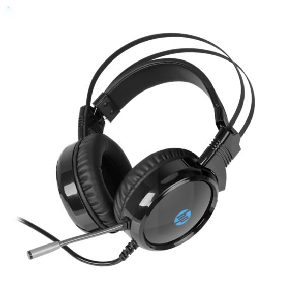 HP® H120 3.5mm + USB Wired Stereo Noise Cancelling Gaming Headphone Headset with Microphone 1