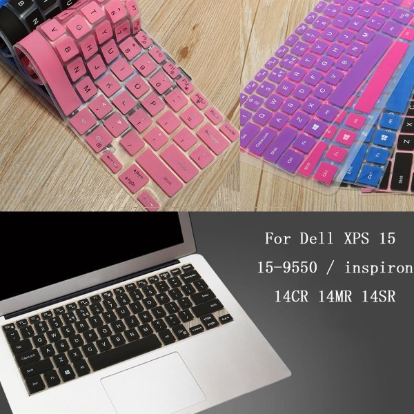 Keyboard Cover Protector For Dell XPS 15 15-9550 / inspiron 14CR 14MR 14SR 1