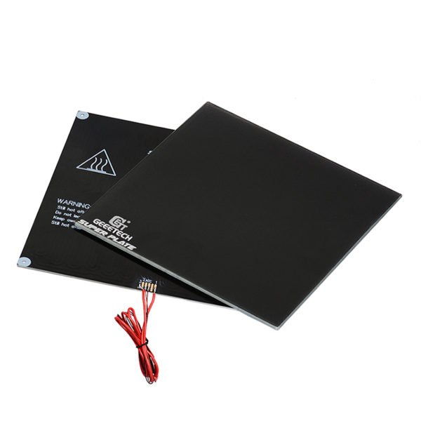 Geeetech® 230*230mm*4mm Superplate Black Glass Platform+Aluminum Substrate Heatbed+NTC 3950 Thermistor Kit For 3D Printer 1