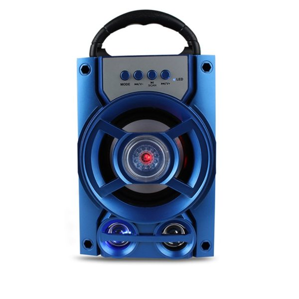 Portable Wireless Bluetooth Speaker Colorful Light Dual Unit Stereo Bass Party Outdoors Speaker 1