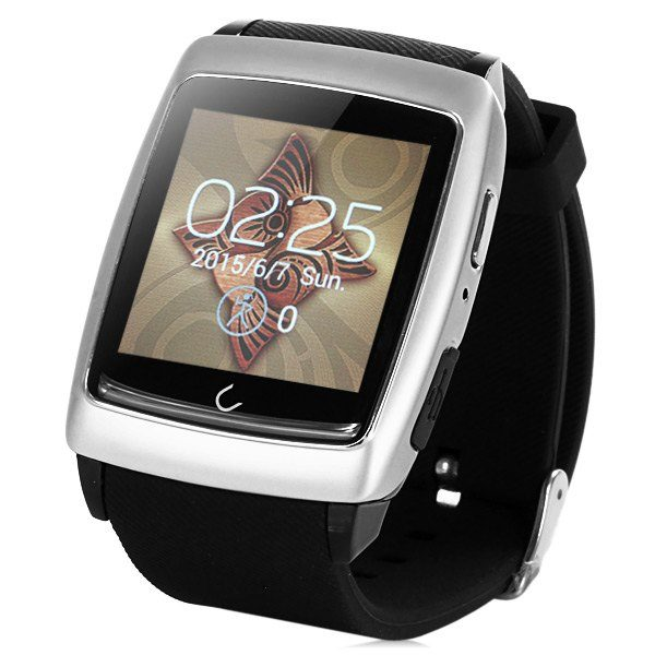 U Watch U18 Bluetooth 4.0 WiFi Android Smart Watch GPS Weather Dialer Pedometer Sleep Monitoring Find Phone 1