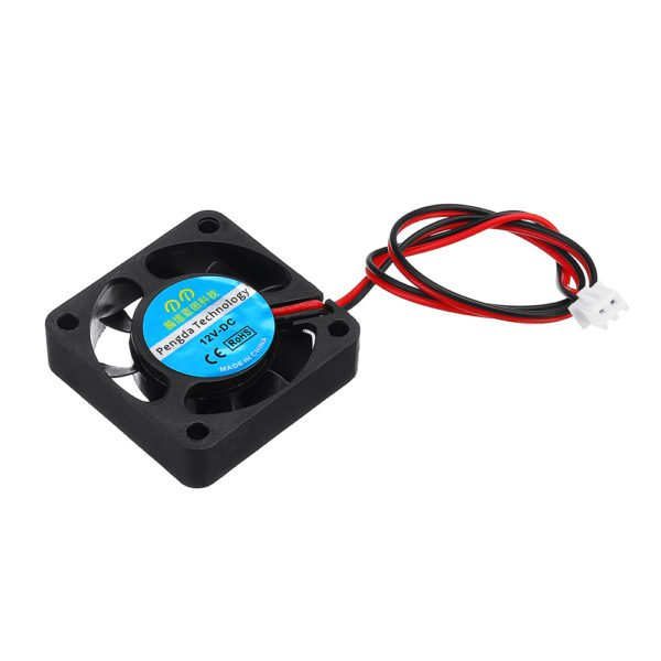 20pcs 40x40mm Small Fan 4010S Computer Chassis CPU Fan 2 Line With Plug 1