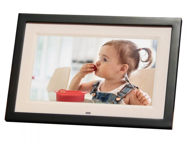 Skylight Frame: 10 inch WiFi Digital Picture Frame, Email Photos From Anywhere, Touch Screen Display 1