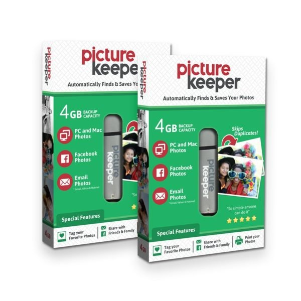 Picture Keeper 8GB Portable Flash USB Photo Backup and Storage Device for PC and MAC Computers 1