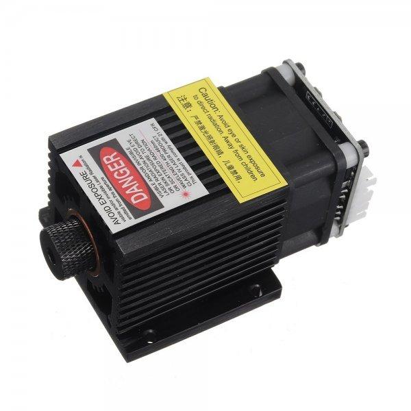 T05-5500 5500mW 445nm Blue Laser Module TTL&PWM Modulation 2.54-3P+2.54-2P for EleksMaker DIY Laser Engraver 1