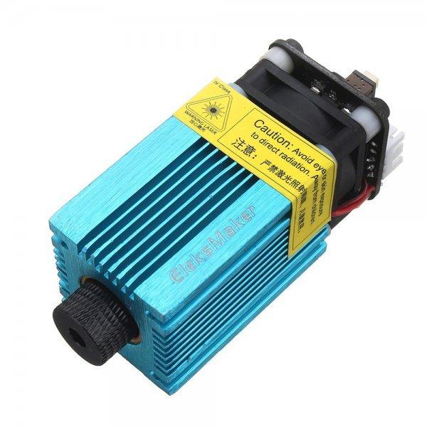 EleksMaker® EL01 500 405nm 500mW Blue Violet Laser Module PWM Modulation 2.54-3P DIY Engraver 1
