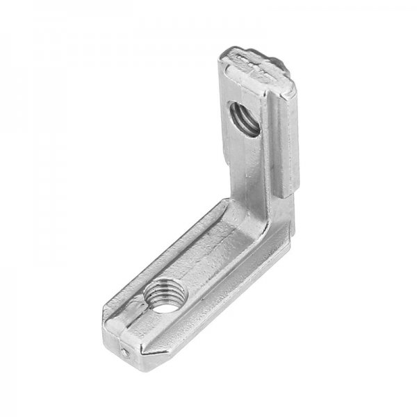 Suleve™ LJ20 5Pcs T Slot L Shape Inside Corner Connector Joint Bracket for 2020 Series Aluminum Profile 1