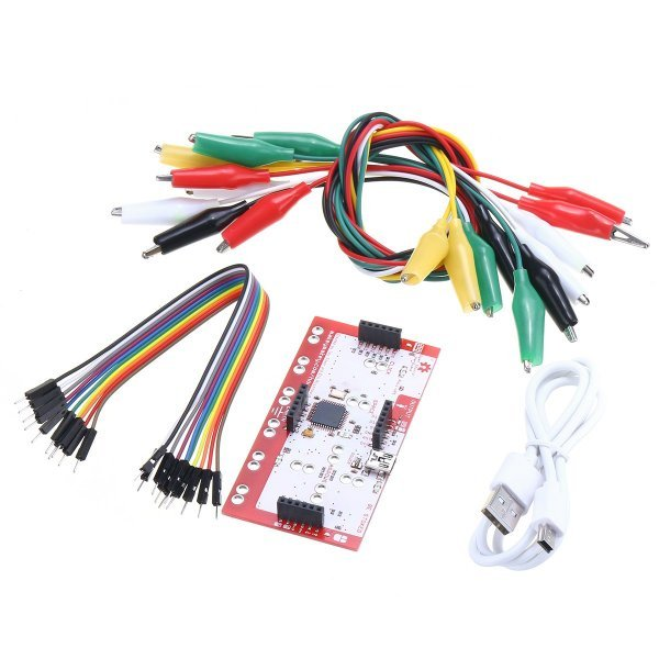 Alligator Clip Jumper Wire Standard Controller Board Kit for Makey Makey Science Toy 1