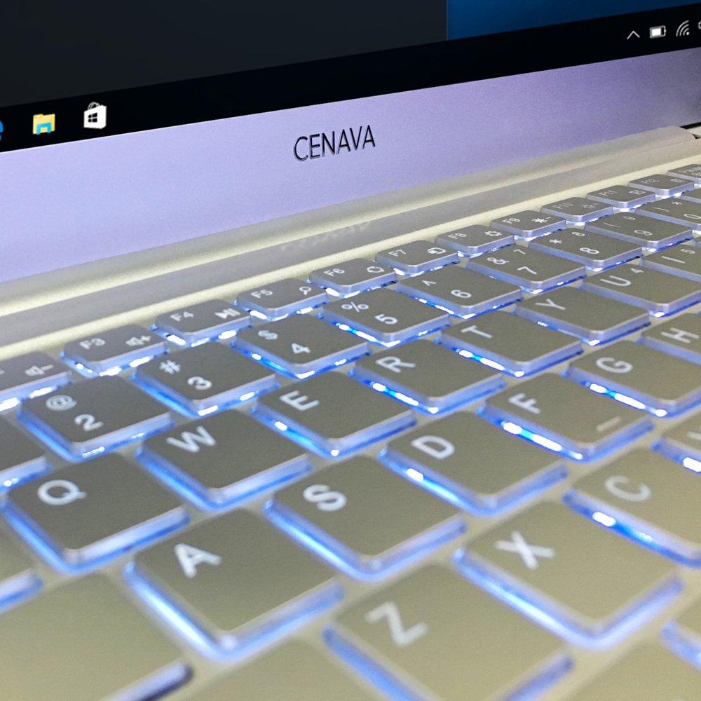 b479e89b3d52e Cenava P14 Windows 10 Notebook 14.0 inch Intel Celeron N3450 6G RAM + 512GB  SSD Metal
