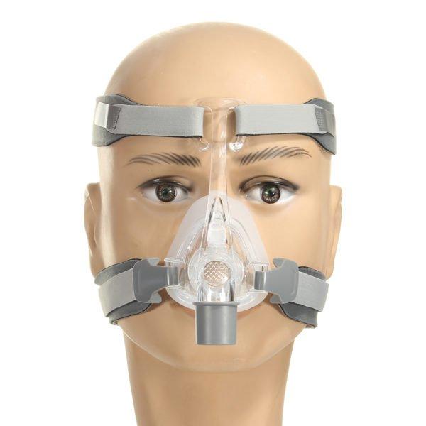 Silicone Gel Mask Headgear Strap Sleep Apnea Nasal Snoring for CPAP 1