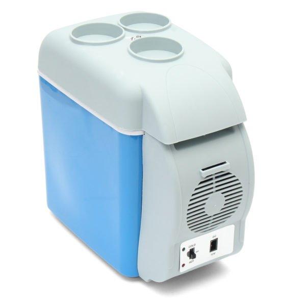 Portable Mini Car Fridge Freezer Cooler / Warmer 12V Portable Fridge Refrigerator 7.5L 1