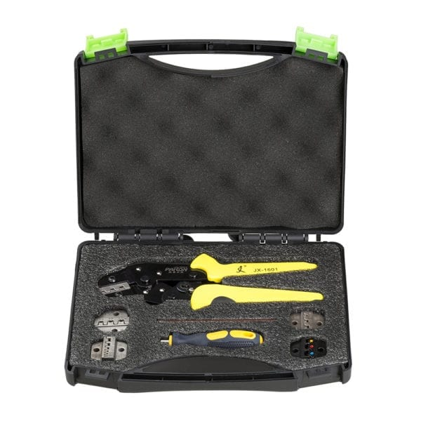 Paron® JX-D5 Multifunctional Ratchet Crimping Tool Wire Strippers Terminals Pliers Kit 1