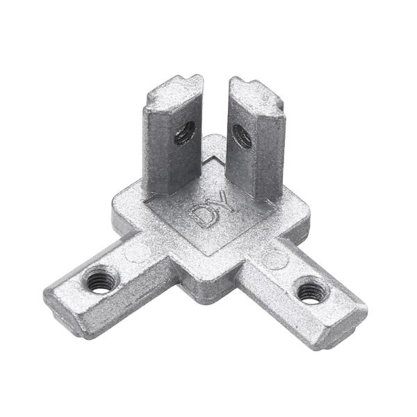 Suleve™ CJ20 T Slot 3 Way 90 Degree Inside Corner Connector Joint Bracket for 2020 Series Aluminum Profile 1