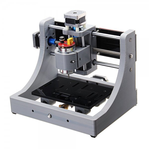 1208 3 Axis Mini Assembled CNC Router Wood PCB Milling Engraving Machine DIY Engraver 120x80x16mm 1