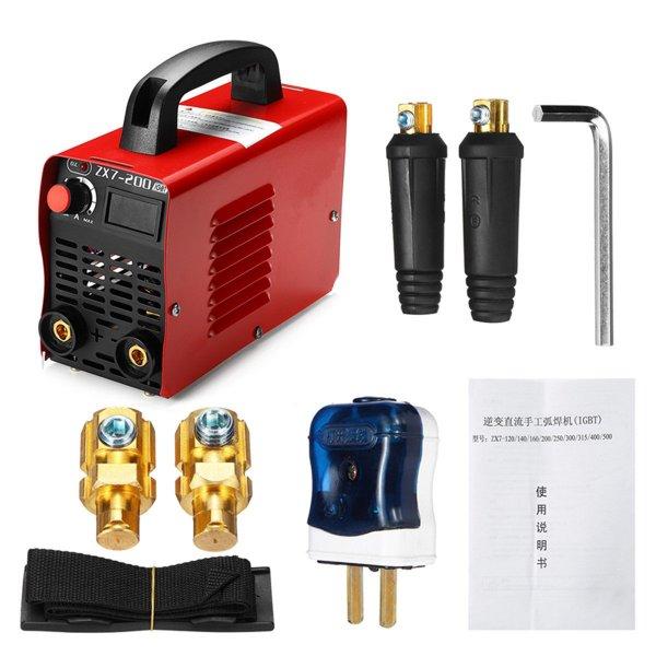 ZX7-200 220V Handheld Mini MMA Electric Welding Tool Digital 20-200A Inverter ARC Welding Machine 1