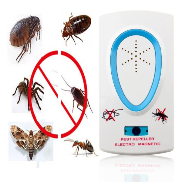 Electrical Mosquito Dispeller Ultrasonic Pest Repeller for Mouse Rat Bug Insect Rodent Control 1