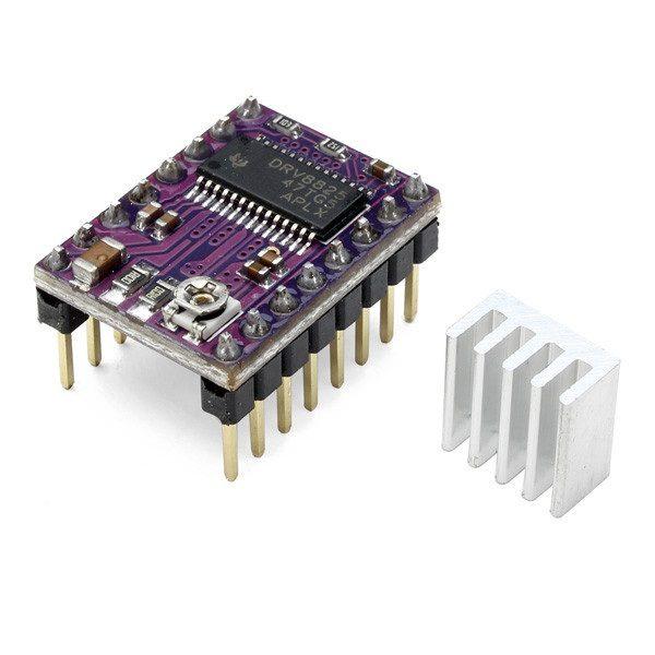 10Pcs Geekcreit® 3D Printer Stepstick DRV8825 Stepper Driver Reprap 4 Layer PCB 1