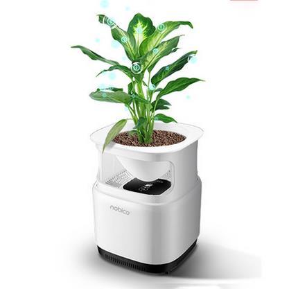 Nobico J009 Mini Original Ecology Green Plant Air Purifier Air Detection Module 3 Layers Filter Air 1